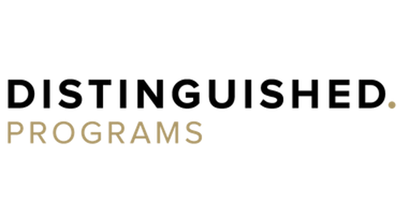 Distinguished Programs Logo